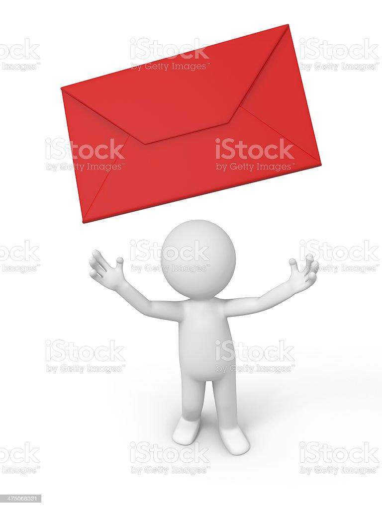 letter stock photo