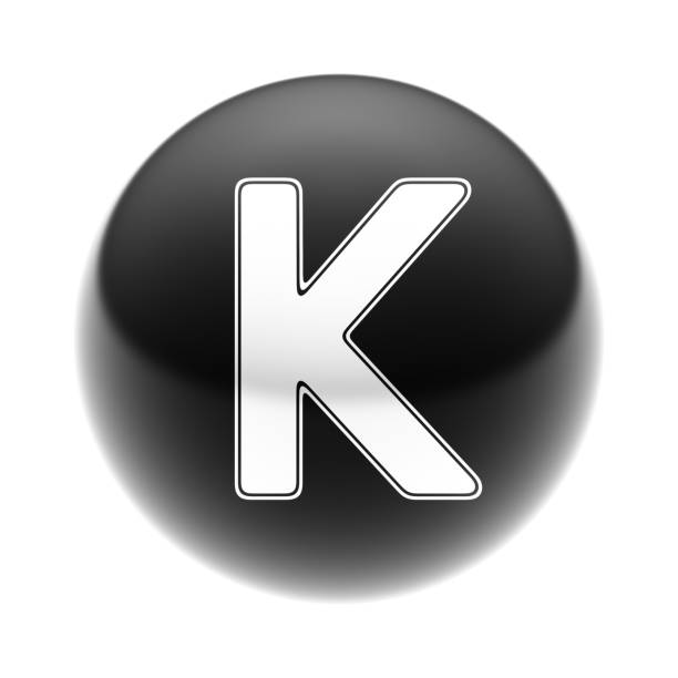 Letter Letter k icon stock pictures, royalty-free photos & images