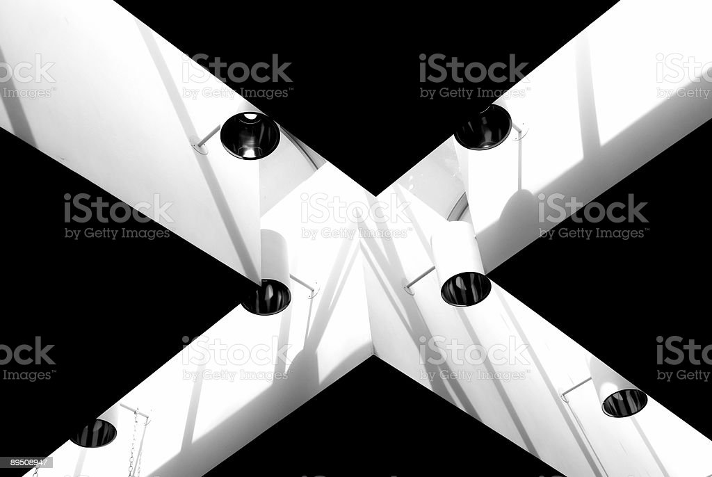 X Letter royalty-free stock photo