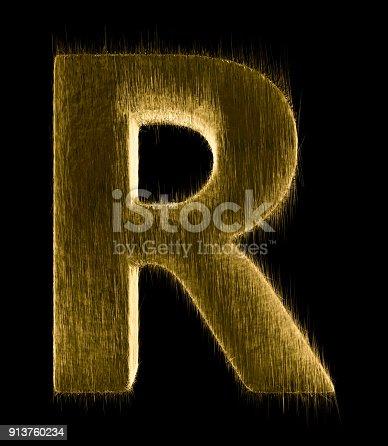 istock Letter R 913760234
