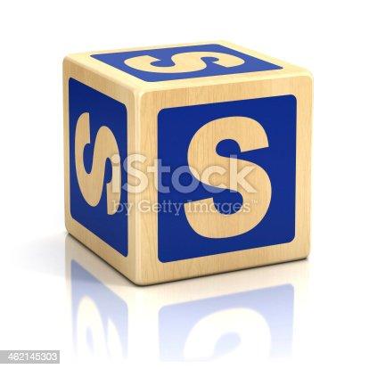 istock letter S alphabet cubes font 462145303
