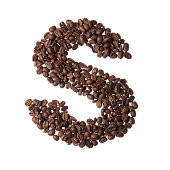Coffee letter S