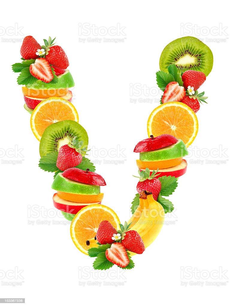 alimentos que empiecen por la letra v