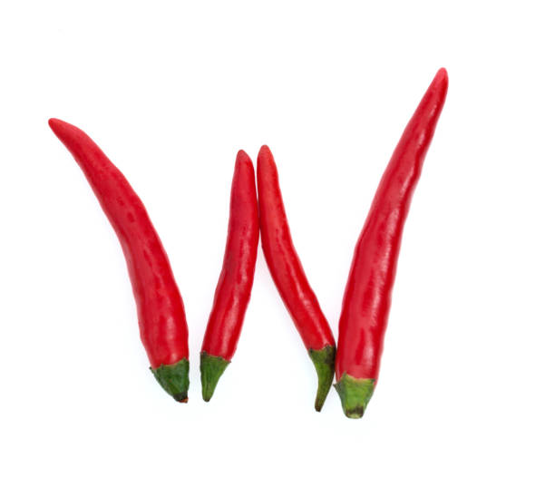 Letter W made with red chili peppers Letter W made with red chili peppers. letter w stock pictures, royalty-free photos & images