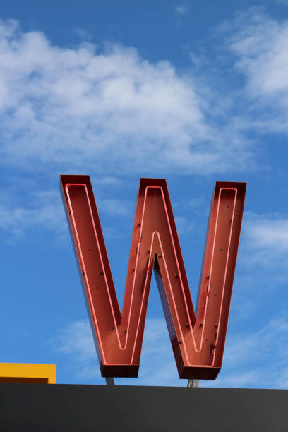 Letter W Stock Photos,...