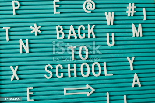 istock Letterboard saying