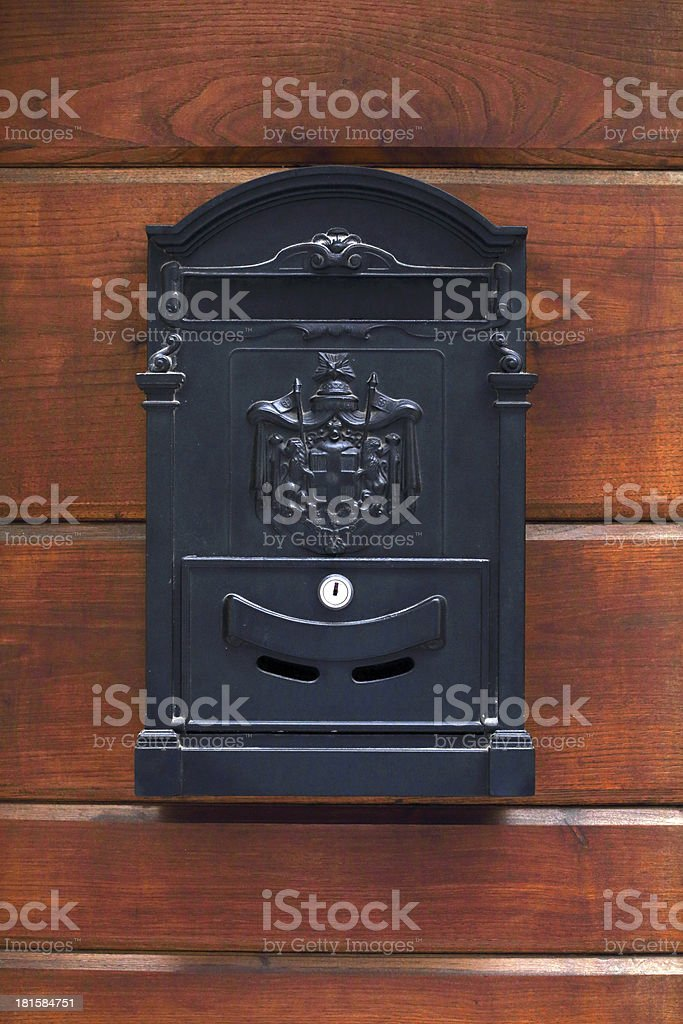 letter-box royalty-free stock photo