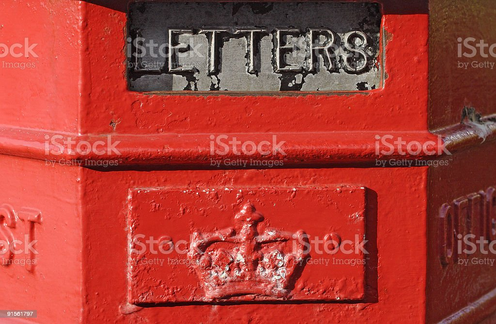 letterbox royalty-free stock photo