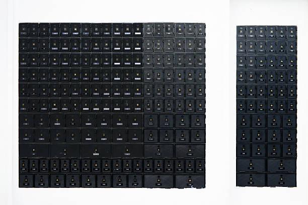 letterboxes 2 - briefhalter stock-fotos und bilder