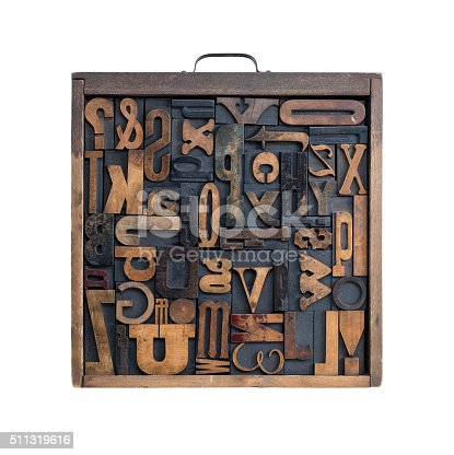 511318324 istock photo Letterpress letter drawer 511319616