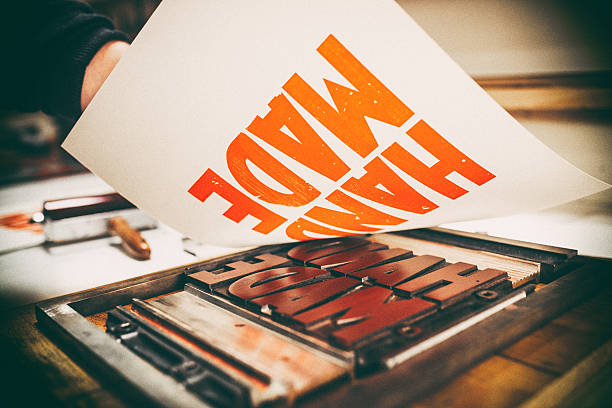 letterpress printing - letterpress stock photos and pictures