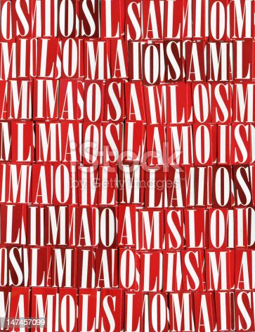 546439334 istock photo letters background 147457099
