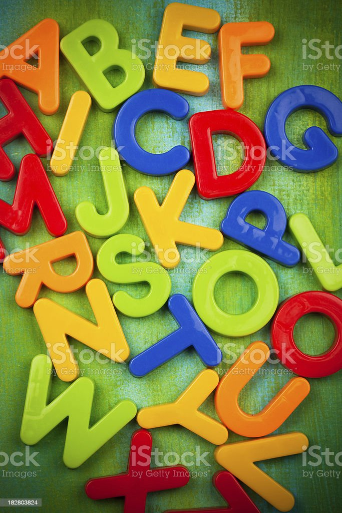 letters background royalty-free stock photo