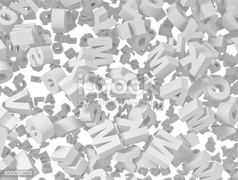 850704072 istock photo Letters flying background 520016220