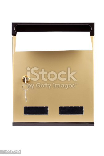 480197395istockphoto letters in gilded mailbox 140017249