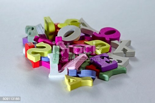 istock Letters mixture 509113185