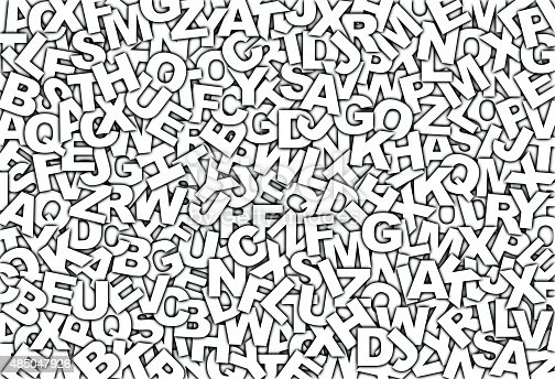485047926 istock photo Letters pattern 485047926