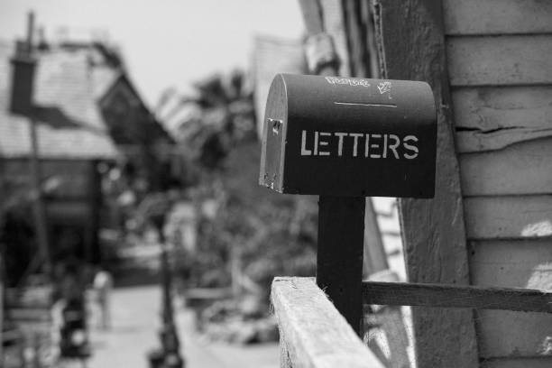 Letters stock photo