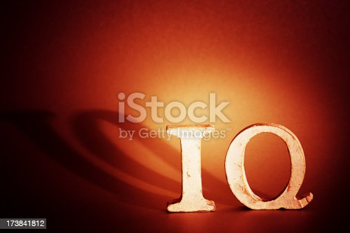 istock IQ letters word 173841812