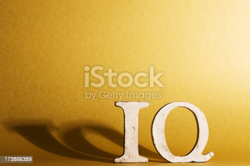 istock IQ letters word 173866389