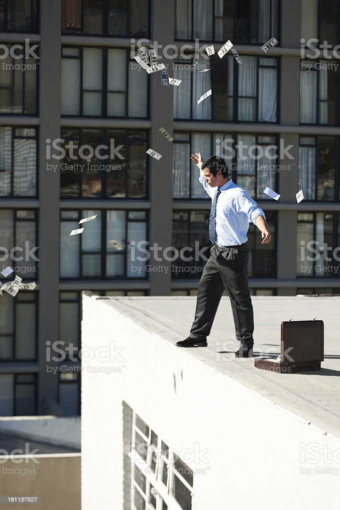 Letting go of the material objects that control me stock photo