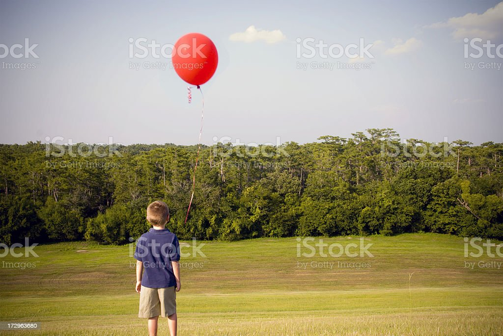 Letting Go royalty-free stock photo