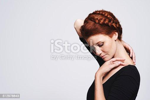 istock Letting her neck breathe 512978843
