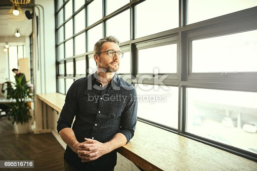 istock Letting his mind wander 695516716