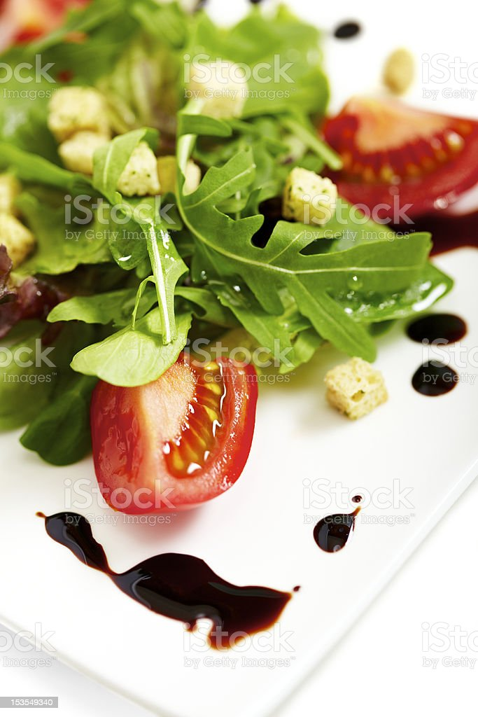 Lettuce plate royalty-free stock photo
