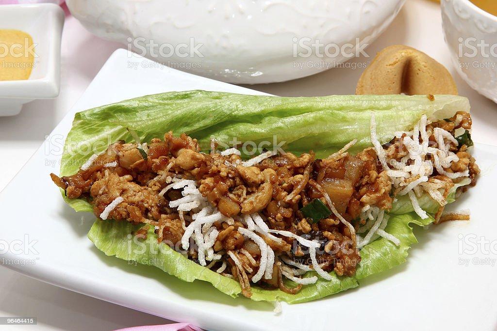 Lettuce Wrap royalty-free stock photo