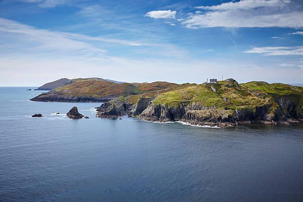 Leuchtturm Sherkin Island Irland stock photo