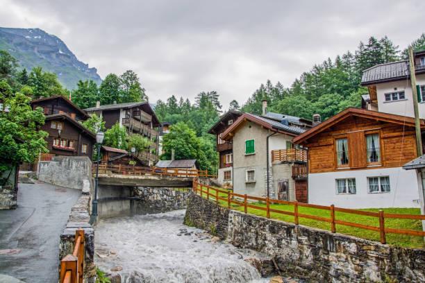 Leukerbad, Wallis, Schweiz – Foto