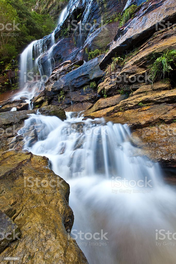 Leura Cascade stock photo