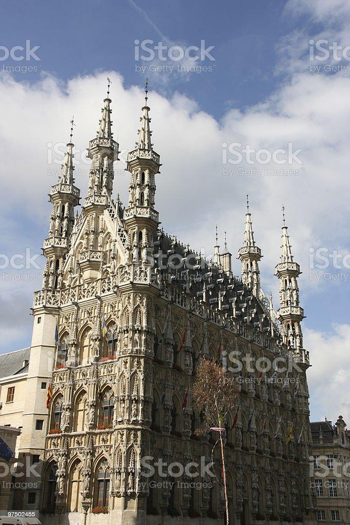 Leuven royalty-free stock photo