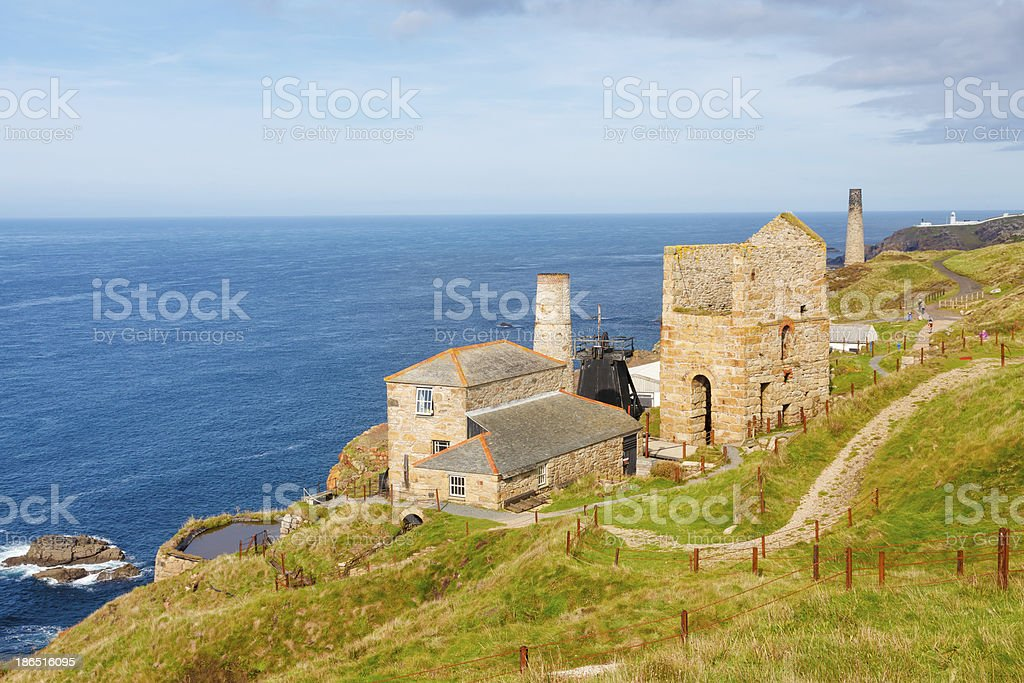Levant Mine Cornwall England royalty-free stock photo