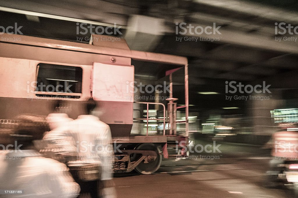 Level Crossing royalty-free stock photo