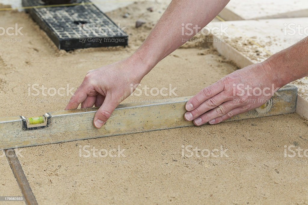 Level line royalty-free stock photo