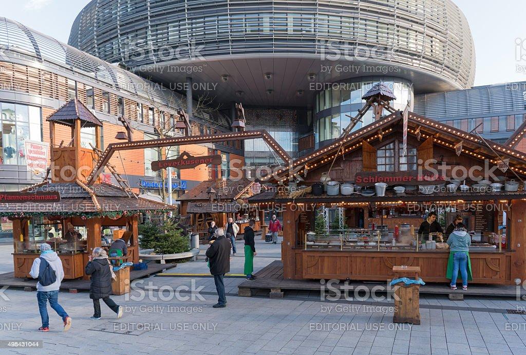 Leverkusen, christmas market stock photo