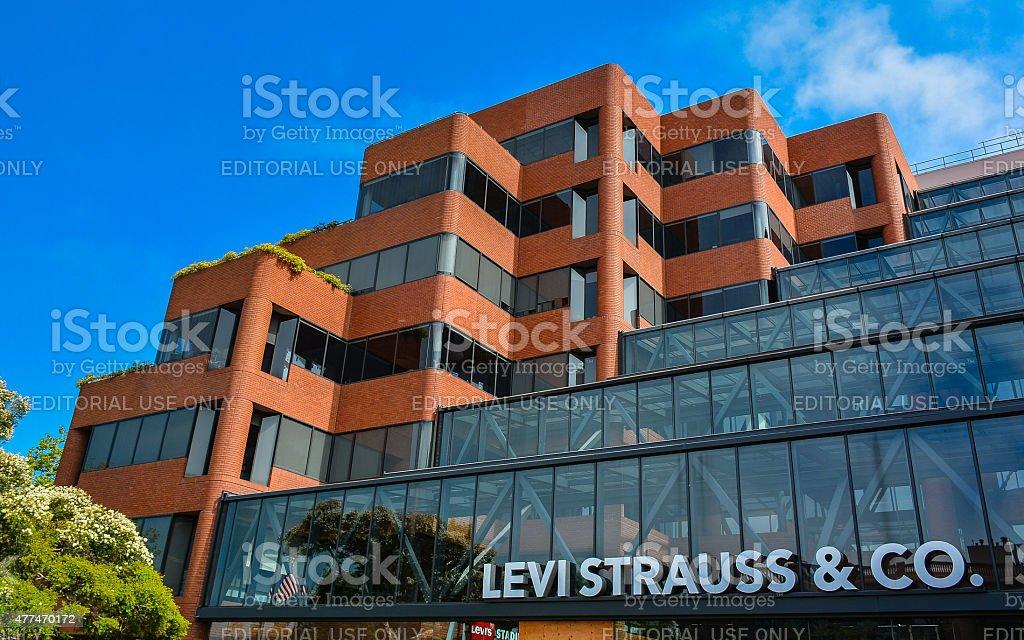 Levi Strauss & Co. Headquarters, San Francisco, CA stock photo