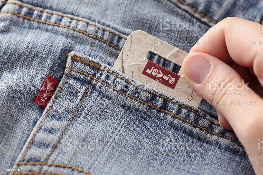 Levi's Jeans stock photo