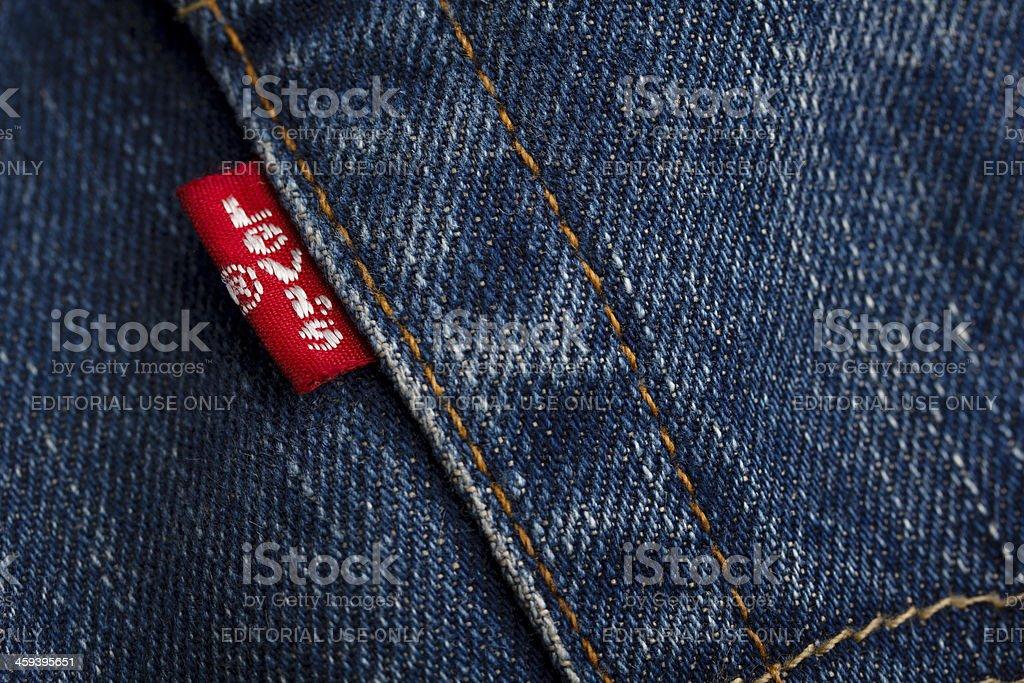Levi's Logo stock photo