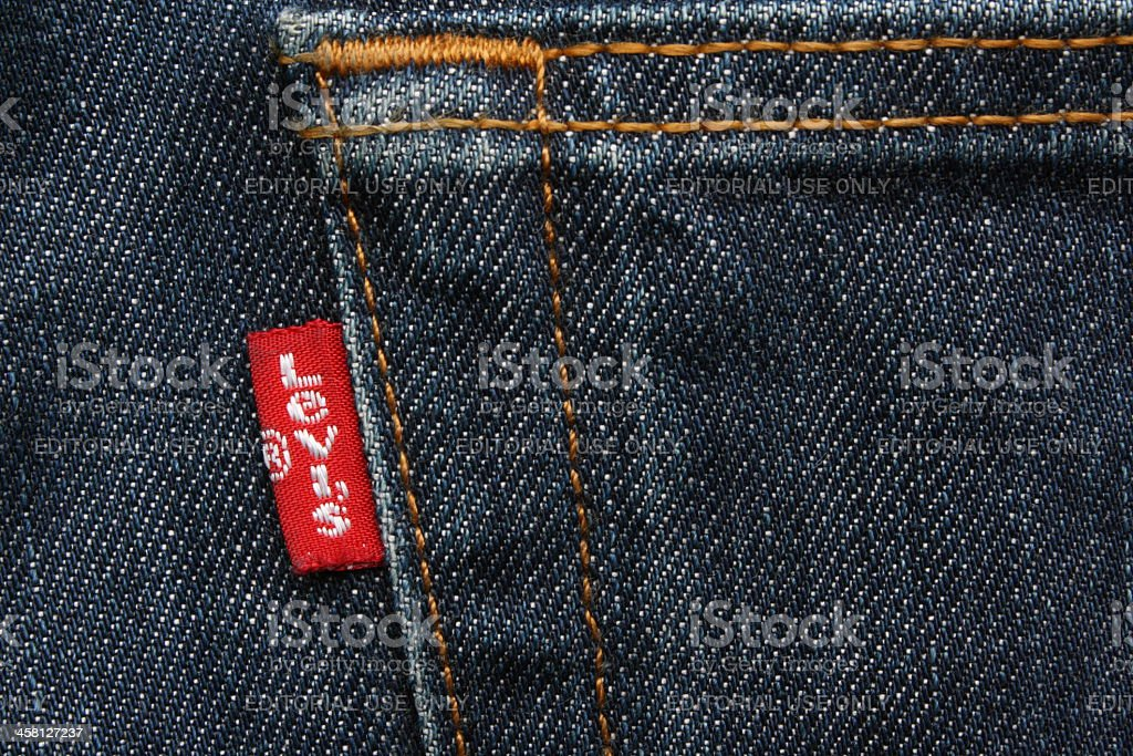 Levis Red Label stock photo