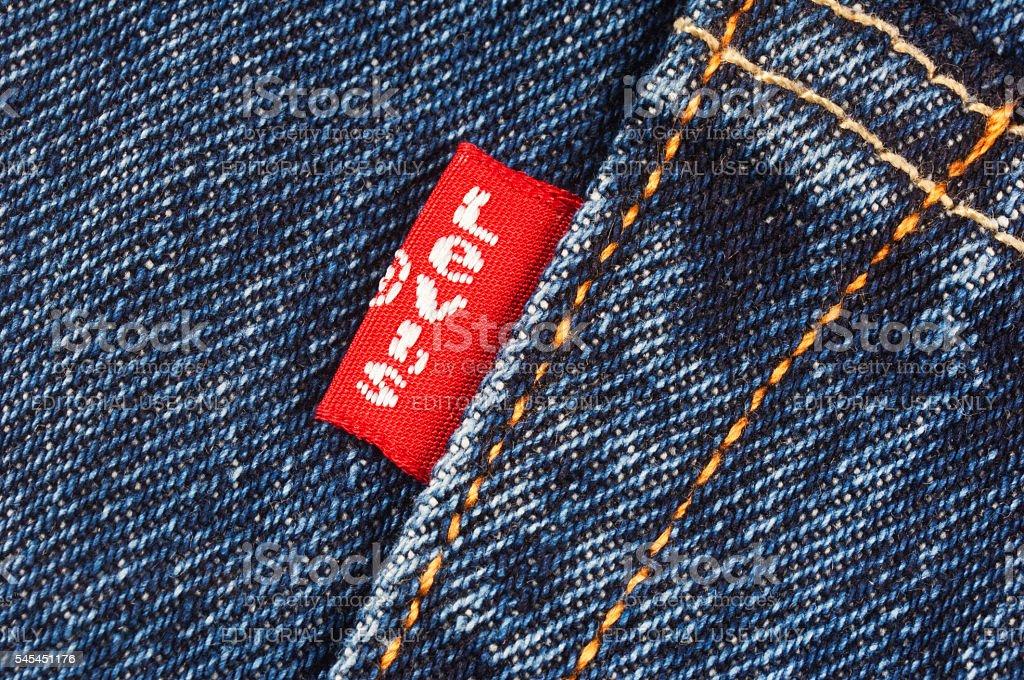 Levi's Red Label stock photo