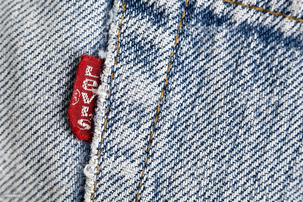 Levi's Red Tab Jeans stock photo