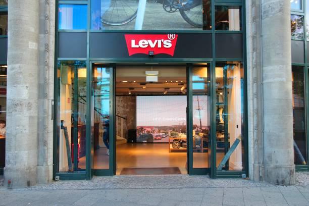 Levi's shop stock photo
