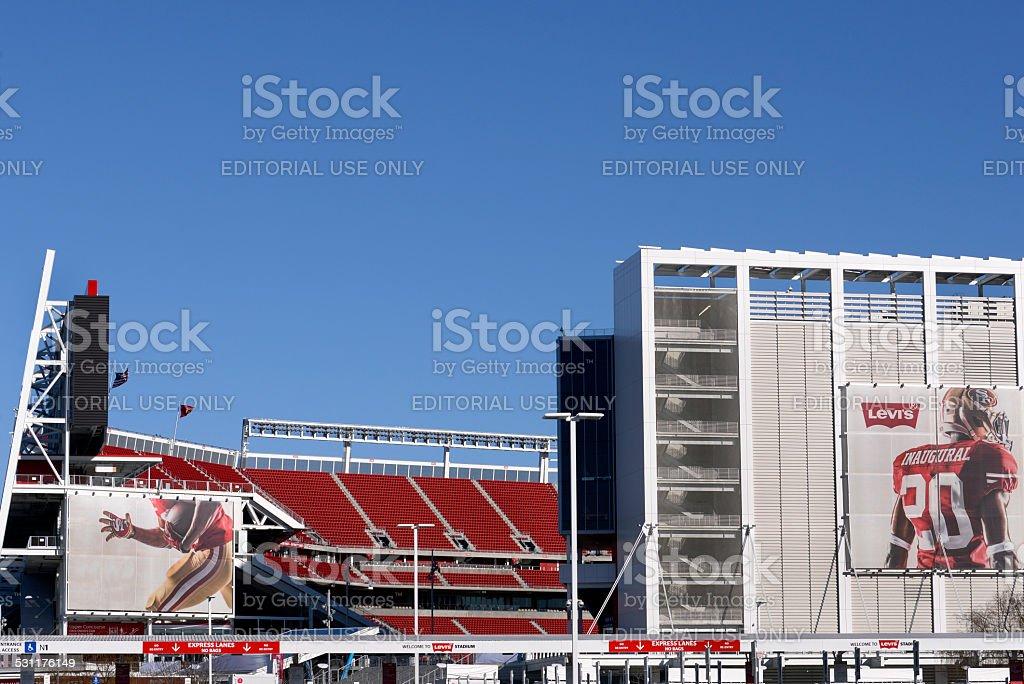 Levi's Stadium in Santa Clara, California stock photo