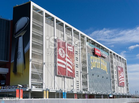 931661614istockphoto Levi's Stadium is the home of the 50th Super Bowl. 506612412