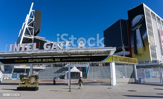 931661614istockphoto Levi's Stadium is the home of the 50th Super Bowl. 506612424