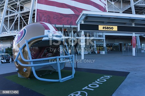 931661614istockphoto Levi's Stadium is the home of the 50th Super Bowl. 506612450