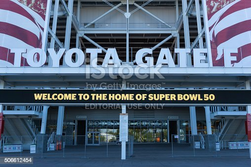 931661614istockphoto Levi's Stadium is the home of the 50th Super Bowl. 506612454